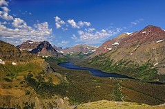 Two Medicine Lake (Phil's Pixels) Tags: montana lakes glaciernationalpark hikes twomedicinelake risingwolfmountain scenicpointtrail mtsinopah