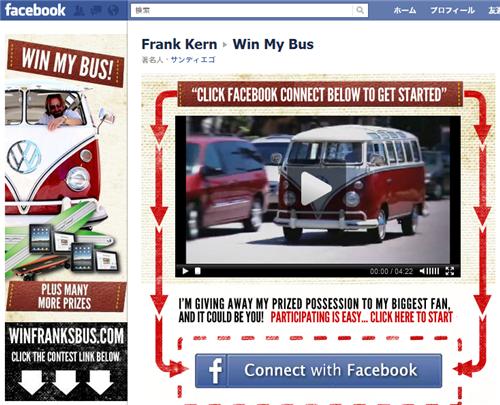 フランク・カーンのFacebookページ