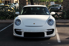 Porsche 997 GT2 (Monkey Wrench Media) Tags: arizona white face race bug germany 911 wing twin az front racing grill led turbo german porsche ready scottsdale carbon fiber twinturbo gt2 carbonfiber spoiler 997 9971 carsandcoffee