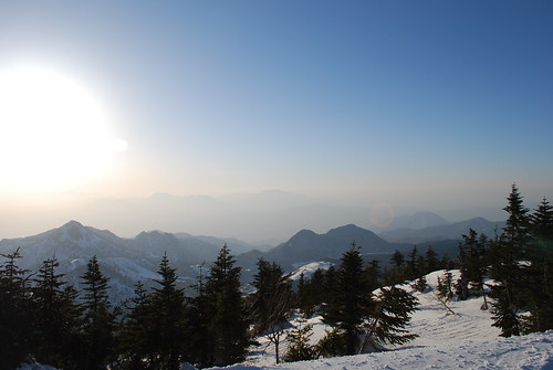 Beautiful view from Mt Yokote