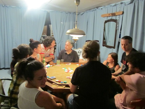 The serious poker game