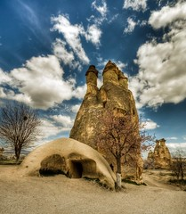 Cappadocia, Turkey (Nejdet Duzen) Tags: trip travel mountain nature turkey view trkiye cappadocia greme da manzara kapadokya rgp turkei seyahat doa idream saariysqualitypictures mygearandme mygearandmepremium ringexcellence