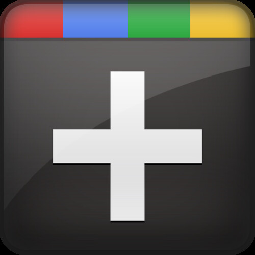 Google Plus - Plus Icon