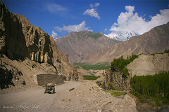 Hunza Nagar - Pakistan (Aliraza Khatri) Tags: travel pakistan summer sky mountains beauty high rocks altitude destination karakoram areas hunza lanscape nagar ganish norhern khatri aliraza gettyimagespakistanq3