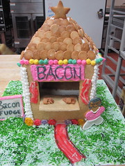 My State Fair Gingerbread House (thehoneybunny) Tags: bacon candy gingerbread fudge marzipan gingerbreadhouse