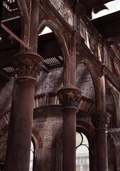 Interior, Crossness Pumping Station (Gabludlow) Tags: uk england flower london rust iron bricks pillar victorian ironworks abbeywood crossness crossnesspumpingstation