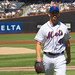 Jon Niese walks off the field