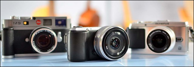 Sony NEX-C3 16mm f/2.8 Olympus E-P3 12mm f/2 Leica M9 Zeiss 50mm f/2 T* Planar