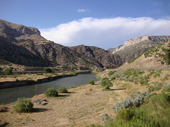 Big Horn River Valley (Fremont County, Wyoming) (courthouselover) Tags: landscapes wyoming wy fremontcounty boysenstatepark
