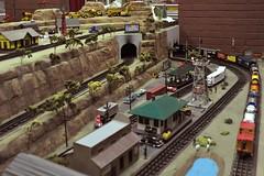 Train Town (Macomb Paynes) Tags: train town display tunnel setup
