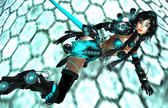Digital Deamon - minako (M&K_Sweet) Tags: secondlife deamon cyber gynoid succubus