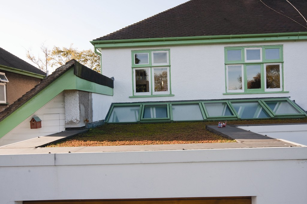 Sustainable Live-Work Space, Staffordshire - Roof View