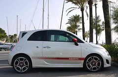 Abarth 500 (MauriceVanGestel Photography) Tags: auto espaa haven cars car port fun puerto island islands harbor spain klein fiat harbour small s el insel spanish coche autos 500 mallorca coches spanien arenal spanje majorca eiland balearen espaol abarth fiatabarth palmboom balearicislands espanya smallcar funcar espanyol inseln eilanden bellissimo schorpioen spaans citycar velgen striping bommetje palmbomen elarenal balearischeinseln sarenal mallorquins 500abarth fiat500abarth abarth500 abarthfiat kleineauto abarthfiat500 stadsauto puertoarenal abarthschorpioen abarthstriping arenalmajorca arenalmallorca arenalespaa arenalspanien arenalspain arenalspanje portarenal havenarenal harbourarenal bellissimoabarth manyfun