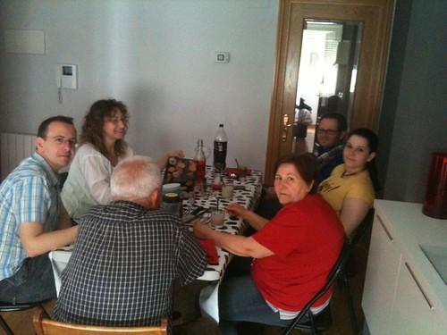 Zaragoza | Inauguración casa David | Familia