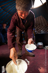 Yogurt in the yurt (Pvince) Tags: food asia mongolia mng khvsgl toom northeastasia