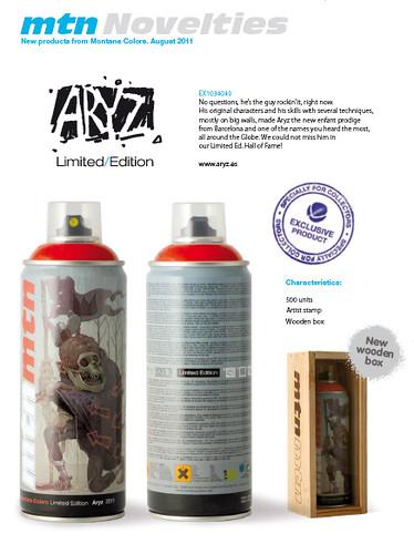 aryz tilt limited edition mtn MONTANA cans