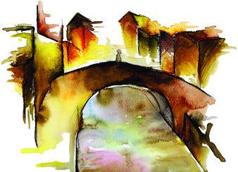 art ecology fashion museum watercolor children arte bambini moda drawings environment covers illustrator museo disegni copertine luxury childrensbooks ambiente lusso ecologia acquarello illustratore libriperbambini andreatarella tendanza