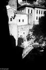 In flight (Viramati) Tags: leica bridge jumping shadows mostar bosnia 28mm diving m9