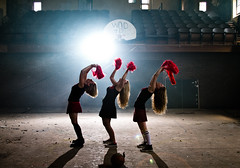 With the lights out (Spectral Convergence) Tags: church cheerleaders nirvana gym angst pompoms skirts abanonded smellsliketeenspirit nirvanatribute smellsliketeenspiritcheerleaders detroitkicksass