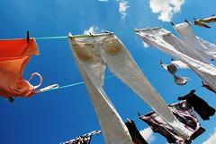 Laundry (Peppysis) Tags: laundry hanging clothesline