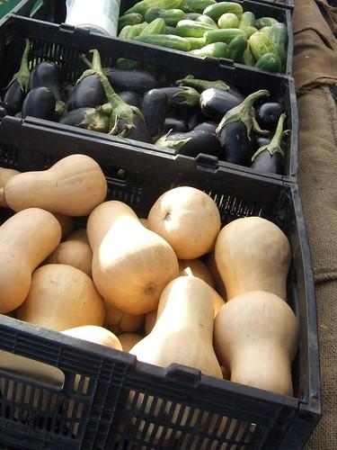 Late summer produce