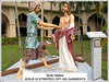 '10th Station of the Cross' at St. Anne's Sanctuary, Bukit Mertajam