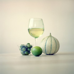 green (PavelDavydenko) Tags: stilllife color green london 6x6 film fuji bronica olives pro medium format melon limes sqa 120mm whine