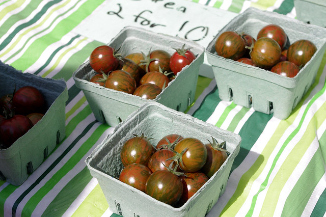 Tomatoes at Trout Lake Farmers Market