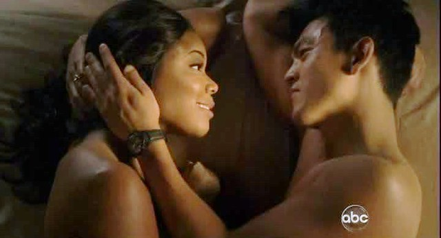 Gabrielle Union and John Cho