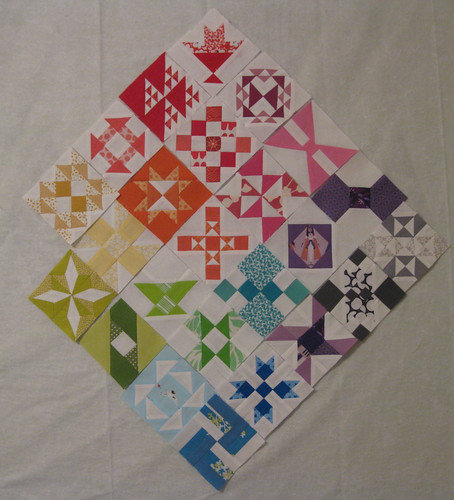 FWQAL Weeks 1-12 by bryanhousequilts