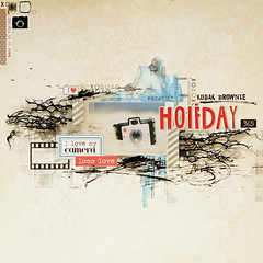 kodak brownie HOLIDAY (ania-maria) Tags: camera holiday vintage scrapbooking layout lomo kodak lo retro brownie annamaria scrap ils lomolove ilowescrap aniamaria