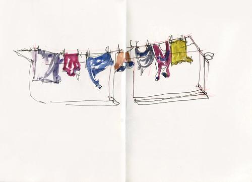 10_Fri23 05 Contrastes Washing Line
