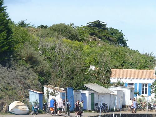 Cabanes du port de la Meule, Ile d'Yeu