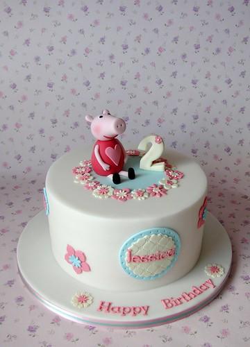 Peppa Pig Cake for Jessica