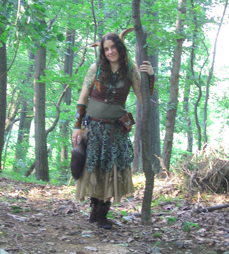 Wood elf costume!