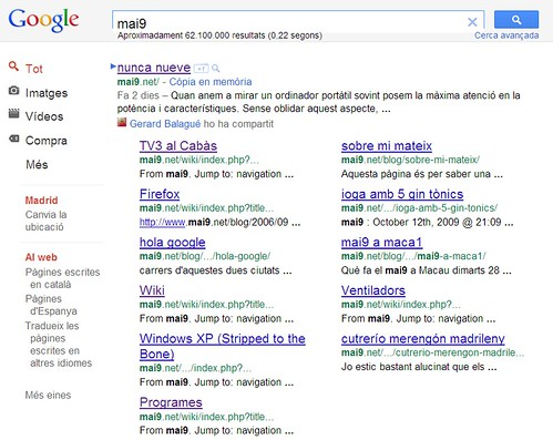 mai9 al google