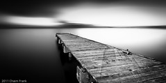 Infinitely Mono  (Explored) (jetrated) Tags: seascape pier curacao netherlandsantilles piscadera