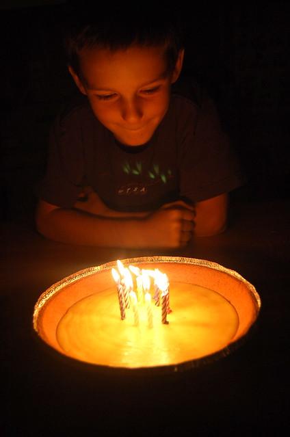 birthday pie