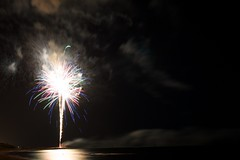 fireworks on the sea 2 (paolo.carlini) Tags: