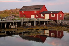 Fishing Stage (PietervH) Tags: newfoundland