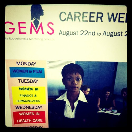 GEMS speaker experience today was great. I love inspiring young women