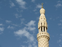 Dubai - Grand Mosque - United Arab Emirates (Been Around) Tags: travel dubai niceshot minaret islam travellers uae emirates emirate unitedarabemirates  grandmosque jumeirahbeach vae moschee 2011 vereinigtearabischeemirate dubayy minarett miratsarabesunis concordians thisphotorocks  worldtrekker   bauimage aljumeirahmosquedubai aljumeirahmosque