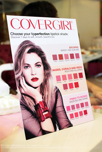Lipstick Shade Chart - Covergirl Lip Perfection Bullet Lipstick Event