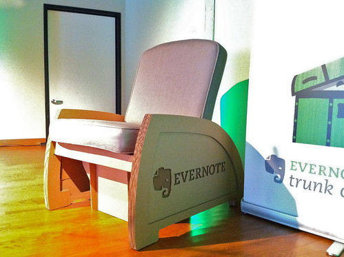 Cool Evernote Chair Made Of Cardboard