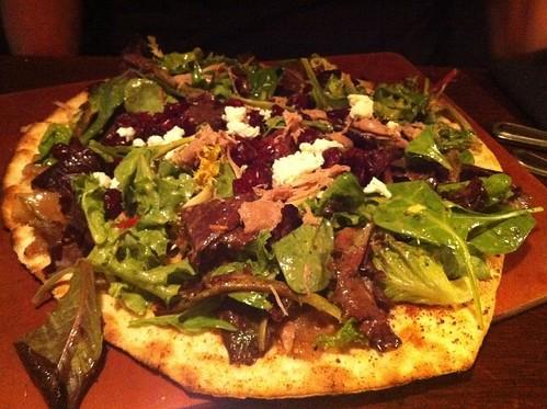 Duck Confit Pizza, Majestic Grille, Memphis, Tenn.