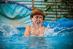 luckiest time of his life (Stefan Lorse) Tags: water pool germany deutschland wasser dof child saxony depthoffield kind sachsen splash spielen spritzer tiefenunschrfe tamron1750mmf28 canoneos50d