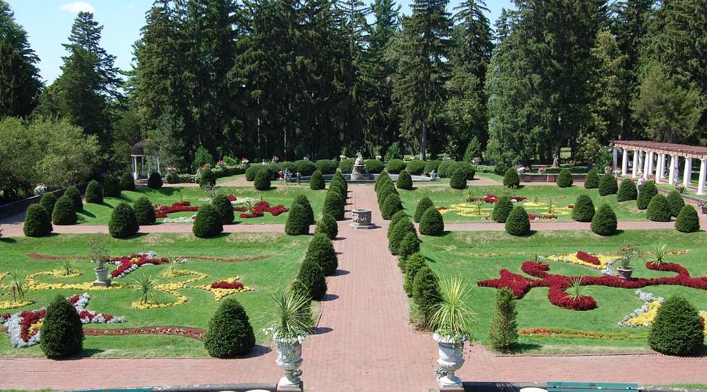 Back to Sonnenberg - Italian  Garden