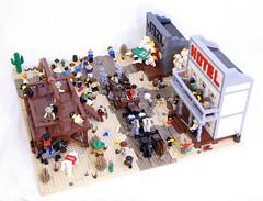 SavedByTheBoom4 (Shmails) Tags: cowboy lego boom western custom minifigures