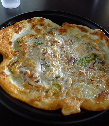 Seafood pancake@Madtongsan Warrigal
