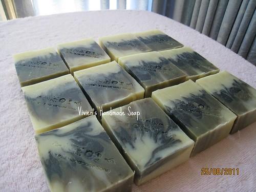 平安竹炭皂